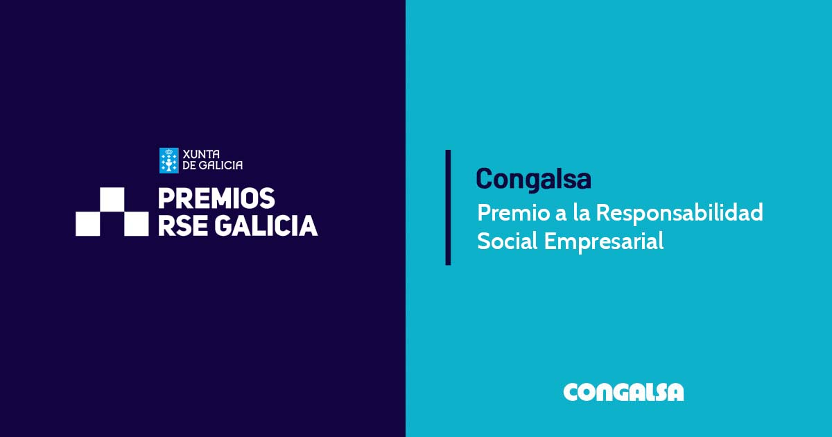 Congalsa wins Corporate Social Responsibility award for its work/family conciliation measures