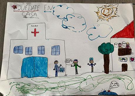 Concurso de Dibujo Mi Familia en Casa